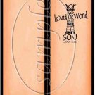 God So Loved the World ~ Orange ~ Bookmark 1 Dozen