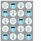 Best Dad ~ Father's Day ~  Cupcake Pick & Toppers ~ Set of 1 Dozen
