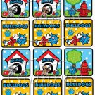 Bulldogs ~ Faux or Inspired By ~  Cupcake Pick & Toppers ~ Set of 1 Dozen
