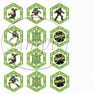 Faux Ninja Turtles #3 ~ Cupcake Picks & Toppers