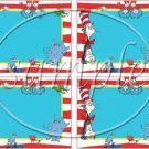 Dr. Seuss Cat in the Hat ~ Faux or Inspired By  ~ Name Badges