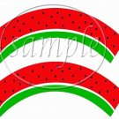 Watermelon ~ Cupcake Wrappers ~ Set of 1 Dozen