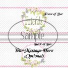 Friends ~ Thinking of You ~ Standard 1.55 oz Candy Bar Wrapper  SOE