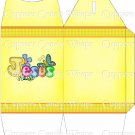 Jesus is Love Yellow ~ TALL Gable Gift or Snack Box