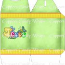 Jesus is Love Green ~ TALL Gable Gift or Snack Box