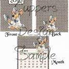 Medical Mouse ~ 12 Month CD Case Calendar 2017