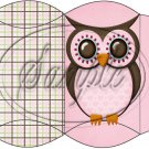 Who Wants a Treat Owl Pink  Blank ~ Pillow Treat Gift Box