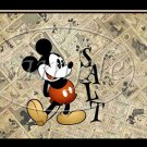 Faux Mickey Comics  ~ Salt & Pepper Shaker Covers Wrappers