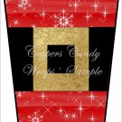 Santa's Sparkle Belt ~  Gift Card Holder Latte` Cup
