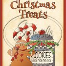 "Christmas Treat Cookies for the Oven~ Christmas  ~ Vertical  ~ 6"" X 8"" Foil Pan Lid Cover"