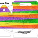Fall Color Stripe  ~ Gable Gift or Snack Box