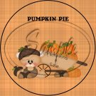 "Pumpkin Pie ~ 7"" Round Foil Pan Lid Cover"