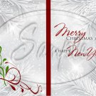 Silver Holly Berry 2 ~ Post It Note ® Cover