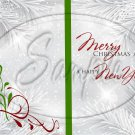 Silver Holly Berry 3 ~ Post It Note ® Cover