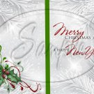 Silver Holly Berry 4 ~ Post It Note ® Cover