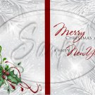 Silver Holly Berry 5 ~ Post It Note ® Cover