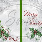 Silver Holly Berry 7 ~ Post It Note ® Cover