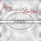 Silver Holly Berry 1 Silver Foil  ~ Standard 1.55 oz Candy Bar Wrapper  SOE
