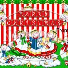 Angelic Angels ~ Christmas ~ Gallon Can Set