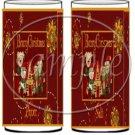 Beary Christmas ~ Salt & Pepper Shaker Covers Wrappers