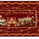 Beary Christmas ~ Christmas ~  Quart Glass Jar