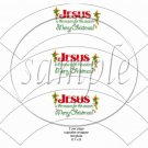 Jesus Is the Reason ~ Cupcake Wrappers ~ Set of 1 Dozen