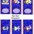 Hark the Herald Angels ~ Christmas ~ MINI Candy Bar Wrappers