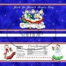 Hark the Herald Angels  ~ Standard 1.55 oz Candy Bar Wrapper  SOE