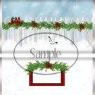 Winter Cardinals  ~ Standard 1.55 oz Candy Bar Wrapper  SOE