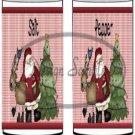 Santa Reindeer ~ Salt & Pepper Shaker Covers Wrappers