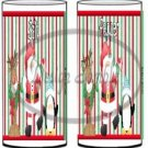 Santa & Friends Striped  ~ Salt & Pepper Shaker Covers Wrappers