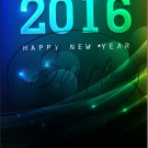 "Blue Green Snowflakes New Year 2016   ~ Vertical  ~ 6"" X 8"" Foil Pan Lid Cover"