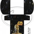 Star Wars Faux Inspired #3 ~  Hershey's Mini Candy Bar 4 Wrapper Box