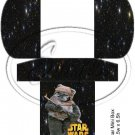 Star Wars Faux Inspired #12 ~  Hershey's Mini Candy Bar 4 Wrapper Box