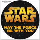 "Star Wars Faux Inspired ~ 7"" Round Foil Pan Lid Cover"