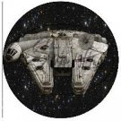 Star Wars Faux Inspired Millennium Falcon ~ Cupcake Toppers ~ Set of 1 Dozen