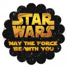 Star Wars Faux Inspired #1 ~ Scalloped Cupcake Toppers ~ Set of 1 Dozen