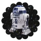 Star Wars Faux Inspired R2-D2 ~ Scalloped Cupcake Toppers ~ Set of 1 Dozen
