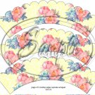 Yellow Rose Lace Tea Party Teacup Cupcake Wrappers ~ Set of 1 Dozen