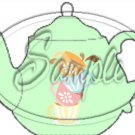Green Teacup Tea Party ~ Teapot Treat Tote