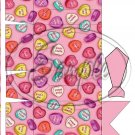 Valentine Conversation Heart  Dress Shirt  ~ Pinch Box EACH