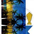 Hawaiian Palms Dress Shirt ~ Pinch Box EACH