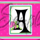 Hug Bug ~  Alphabet MINI Candy Bar Wrapper