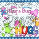 Hug Bug Aqua ~ Valentine's Day & General Love ~ Gallon Can Set