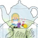 Alice In Wonderland Inspired By Tea Party ~ Teapot Treat Tote