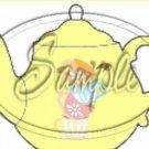 Yellow Teacup Tea Party ~ Teapot Treat Tote ~ 1 Dozen