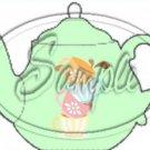 Green Teacup Tea Party ~ Teapot Treat Tote ~ 1 Dozen