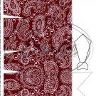 Red Paisley Dress Shirt ~ Pinch Box DOZEN
