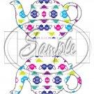 Teapots Teapot ~ Teapot Treat Tote