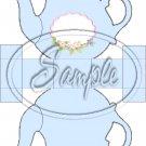 Pastel Blue ~ Teapot Treat Tote